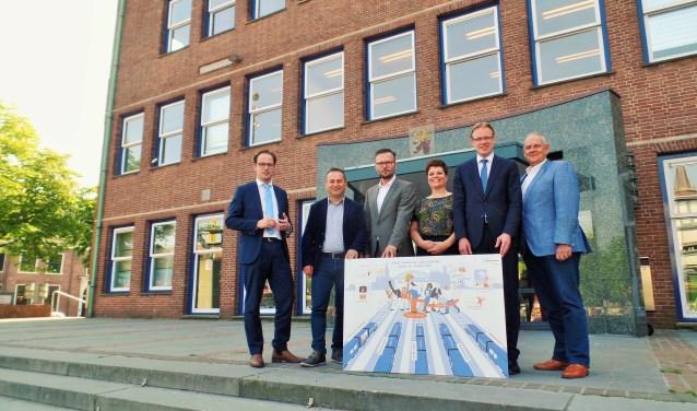Het college van Alblasserdam.