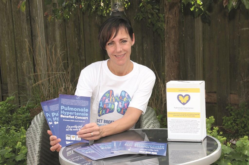 Cindy Klijn lijdt aan pulmonale hypertensie. Ze hoopt dat mensen met die ziekte in de toekomst beter af zijn en zamelt er met een concert geld voor in.