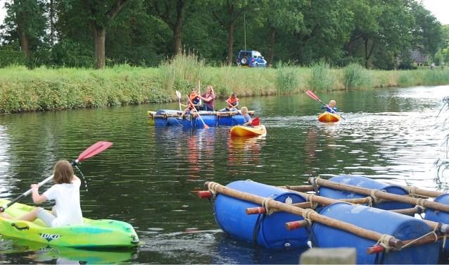 Tijdens de Kanaalweek zijn er zowel in Heerde als in Hattem activiteiten op het Apeldoorns kanaal.