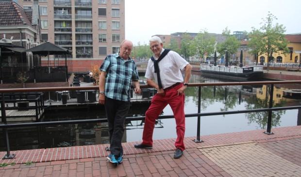 Bert Nijhuis ( links) en Jos Tornij zijn twee van de vier belangrijke krachten achter de Benefiet Taptoe.