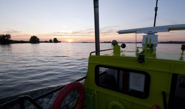 Ga op zaterdag 7 juli vroeg uit de veren en stap in alle vroegte aan boord van de gezellige salonboot De Heicondias. FOTO: Rene Koster