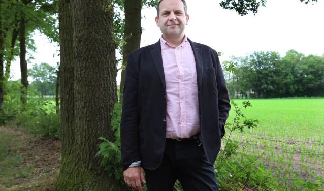 """Wethouder Wouter Bollen: """" Er komt een Taskforce Landbouw. We willen van elke boer weten wat hij precies wil."""" (foto: Marco van den Broek)"""