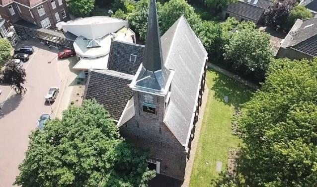 De Dorpskerk van Barendrecht. (foto: Vrienden van de Dorpskerk)
