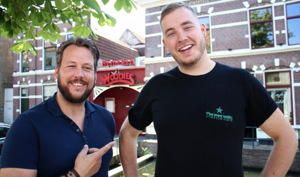 Henk-Jan Viskaal en Niels van der Pijl. Foto: Kirsten Spooren