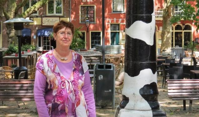 Juf Lucie nam na 39 jaar afscheid van het Herman Broeren college.