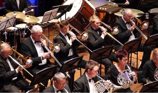 Trombone sectie muziekvereniging Excelsior
