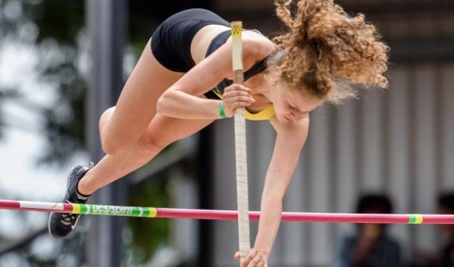 Fleur behaalde op het Domplein in Utrecht een knappe vierde plaats.