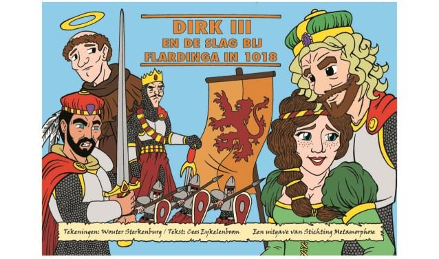 De omslag van het stripalbum dat 1 juni wordt gepresenteerd bij boekhandel Plantage Pontier door Wouter Sterkenburg en Cees Eykelenboom (Foto: PR)