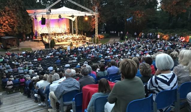 Ruim 2000 gasten kwamen af op het muziekevenement. Foto: Parkgebouw Rijssen.