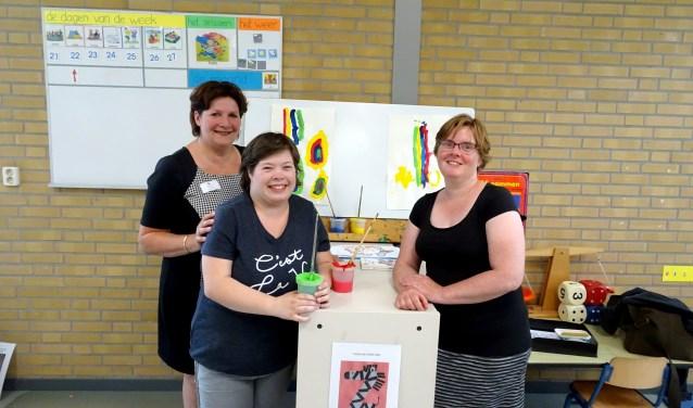 Van links naar rechts: Ankie, Linda en Petra