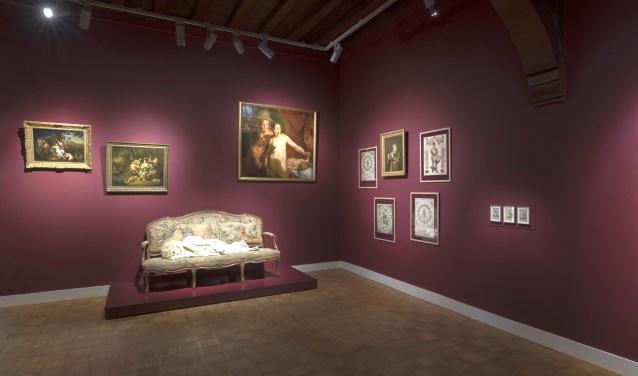 Ars longa, vita brevis is de zaal van Silvia B. Zij kreeg het thema Memento Mori, gedenk te sterven. Foto: Lotte Stekelenburg