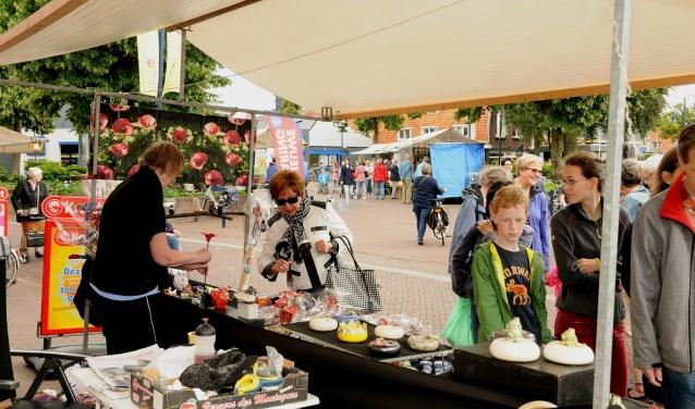 Kunstmarkt Bennekom. (foto: A.J. van der Linde)