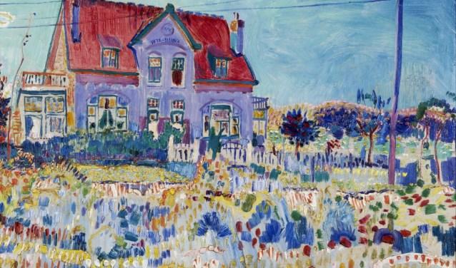 Jan Sluijters, Villa Vita Nuova, 1910, bruikleen gemeente Papendrecht. Eén van de werken die te zien is op de tentoonstelling.