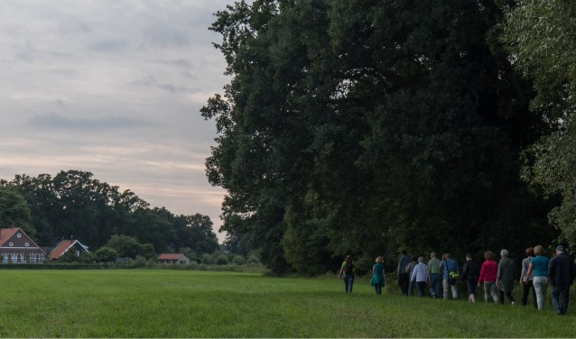 Landschap Overijssel verzorgt in samenwerking met IVN Enschede een zomeravondwandeling doorTwekkelo. Foto: Clifton Buitink
