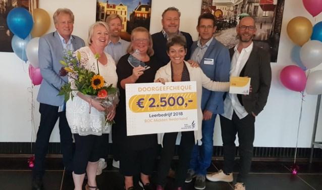 Kringloop verkozen tot Leerbedrijf 2018