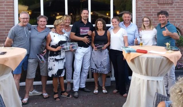 De winnaars van de Borculose golfkampioenschappen