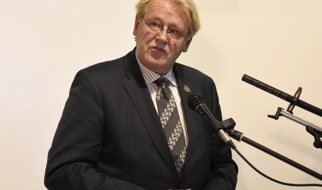 Commissaris van de Koning Zuid Holland, Jaap Smit is aanwezig tijdens de Goudse Veteranendag. Foto: Marianka Peters