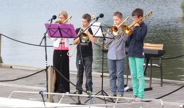 Beeld van een eerdere editie van het Zomeravondconcert in Katwijk. (foto: Peter van de Langenberg)