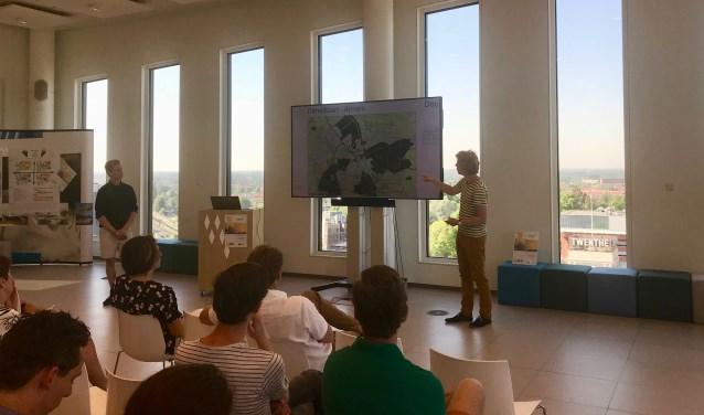 WUR-studenten presenteren hun visie op de eetbare stad
