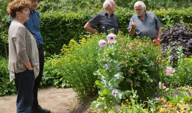 Tijdens het Open Tuinenweekend van Groei & Bloei Rijk van Nijmegen en Land van Maas en Waal zijn zaterdag 16 en zondag 17 juni veel tuinen te bekijken. (Foto Ton Rothengatter)