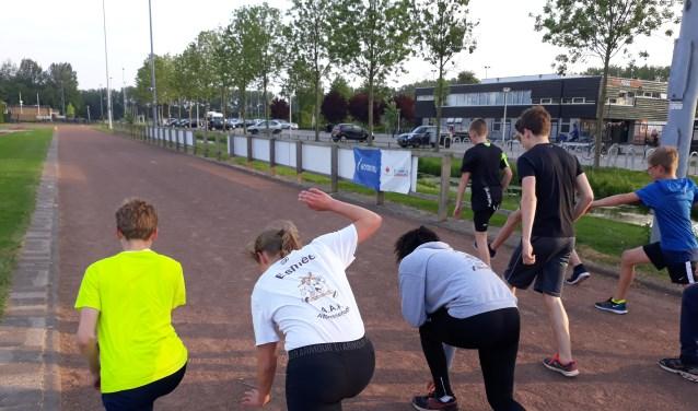 Sinds kort heeft AAA de trainingstijden van de jeugdgroep aangepast en met succes. (Foto: Jako de Jong)