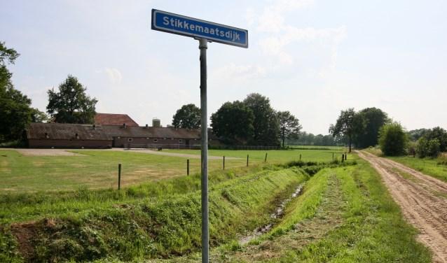 De plek waar Vincent Hulshof en zijn broer Jos een zonnepark willen realiseren. Foto: Eveline Zuurbier