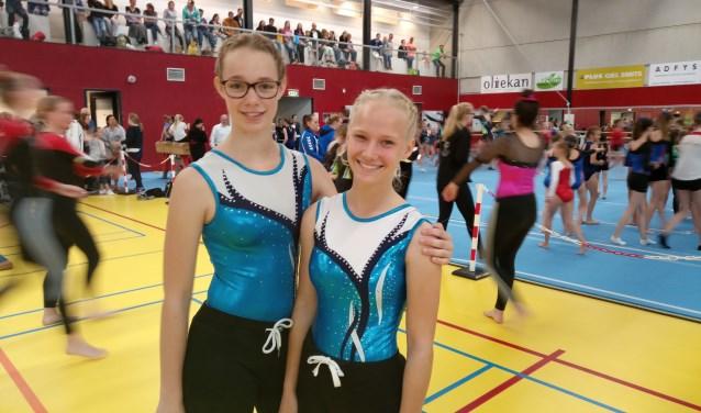 Rowena en Kyara. (Foto: T van den Berg)