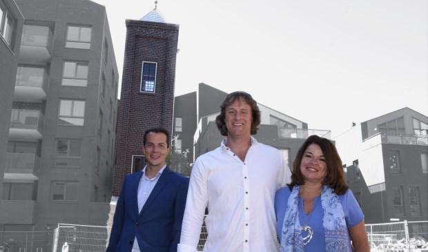 Xavier Dunoij van Blauwhoed, Mike Heerkens en Carla Goedhart. Foto: Marianka Peters