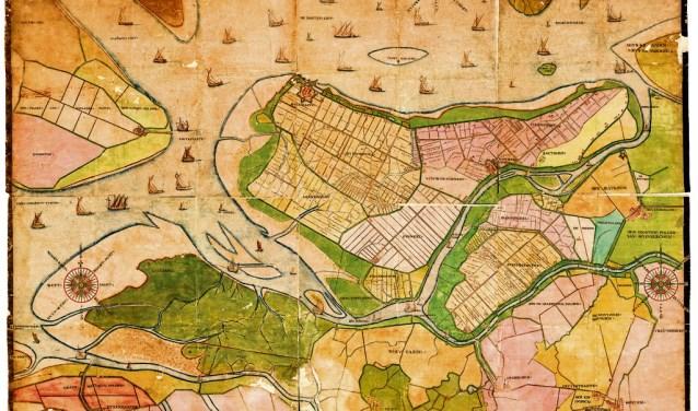 e serie cursussen start met 'de historische geografie West Brabant ('Gastelse kaart')', door docent Karel Leenders.
