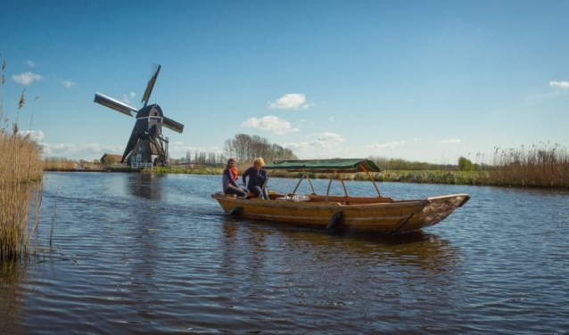 Heerlijk varen op de Giessen. (Foto: Ferry Verheij)