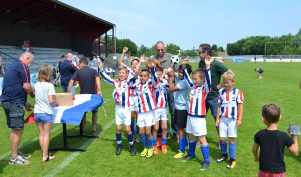 Bij RWB in Waalwijk vonden het afgelopen weekeinde weer diverse jeugdtoernooien plaats.
