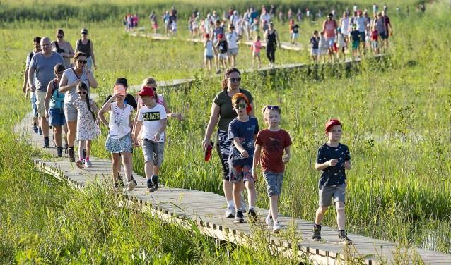 Wandelaars Avondvierdaagse Nijmegen-Noord