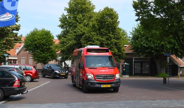 De buurtbus in actie. Foto: Stichting De Welle.