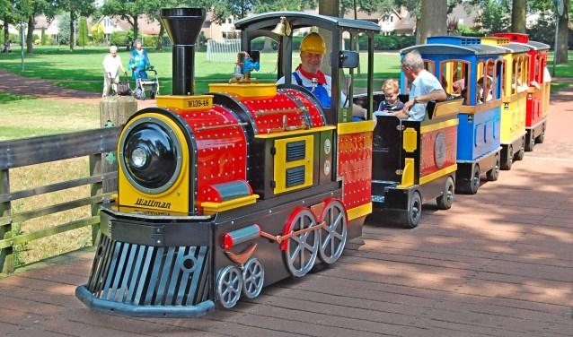 treintje Bello voor de kleine kinderen