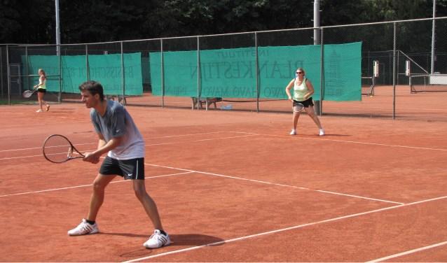 tennis dubbelspel