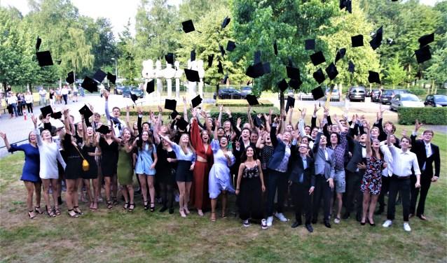Feest op Groevenbeek met ruim 600 geslaagden