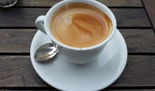 Tijd voor koffie.