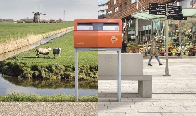 Vanaf augustus zijn er  minder brievenbussen in Ridderkerk te vinden (Foto: PostNl)