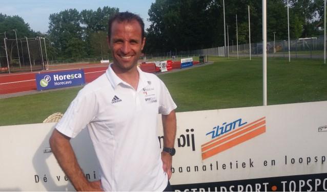 Thijs Donkersloot, atletiek trainer en coördinator pupillen bij Ilion