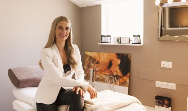 Mandy te Loo: ''Bij Huid en zo zijn de behandelingen gericht op ontspanning en verzorging van lichaam en geest. Als je van binnen in balans bent, zie je dat van buiten.''