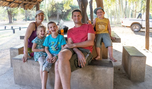 Familie Rombouts in Malawi