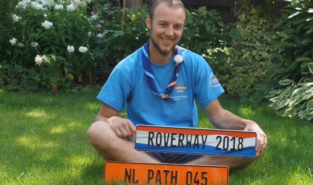 Patrick Baars was medeorganisator van Roverway 2018 in Nederland en pathleader van een van de 60-70 groepen roverscouts, path045, die hij meenam op reis. Hij ontwikkelde zijn eigen promotiemateriaal.