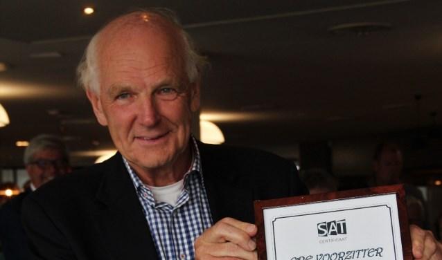 Rik Suyver (70) is zelf nog actief tennisser en speelde in de jaren zeventig op hoog regionaal niveau.