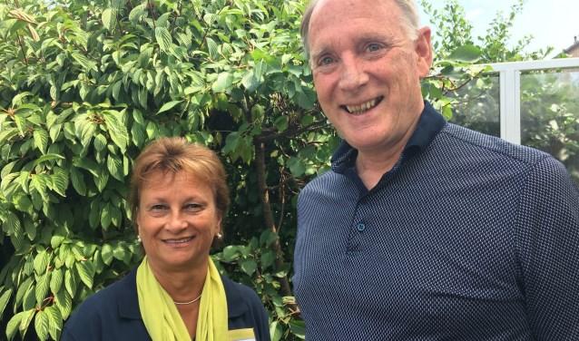 Agnes Bos- van Oest is gids bij Gilde en Hein Teuwen is algemeen coördinator.