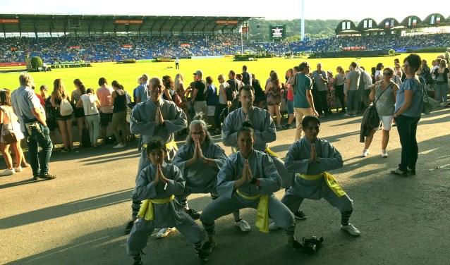 Shaolin Sportschool Apeldoorn in het Duitse Aken