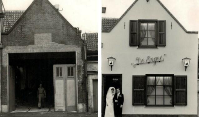Het graanpakhuis aan de Koestraat 4 in Schoonhoven werd 50 jaar geleden verbouwd tot Kegelhuis De Engel.