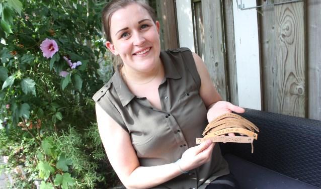 Lisa Huisman is Eregast bij de komende editie van de SamenLoop voor Hoop in Sint-Michielsgestel en gaat wandelen. Foto: Wendy van Lijssel