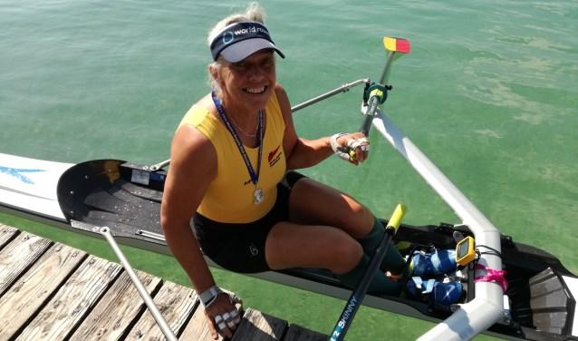 Anja van Blokland winst in skiff