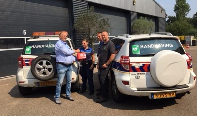 De AED's die op diverse plaatsen in de gemeente Meierijstad zijn in beheer bij Stichting Hartsafeen Rooi Hartsafe.