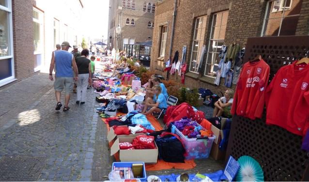 In het centrum van Ootmarsum is donderdag de tweede van drie Siepelmarkten te bezoeken.